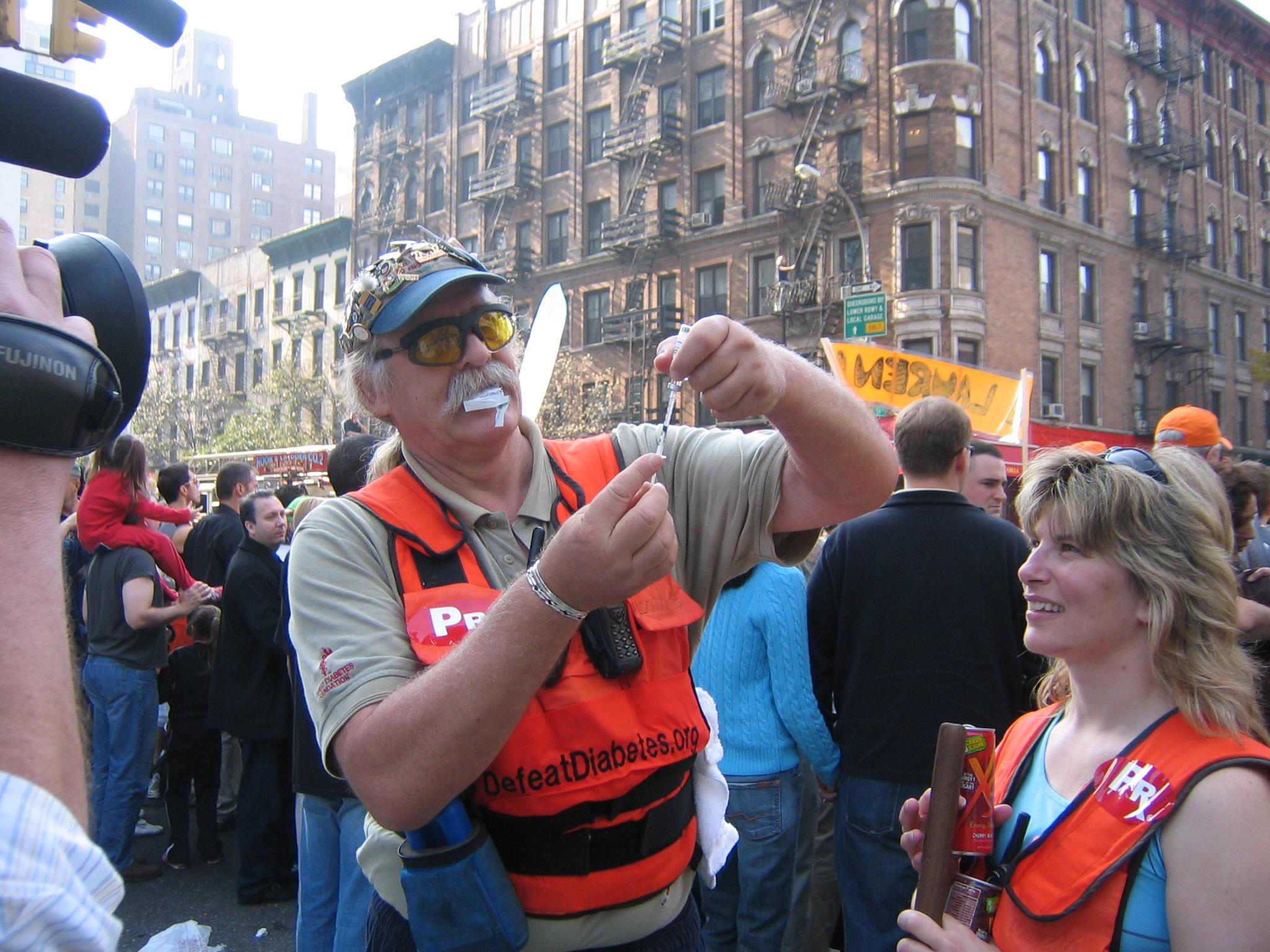 Mr D Insulin Prep NYC marathon
