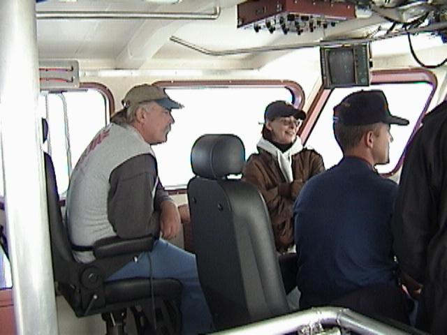Mr. Diabetes On the Bridge of CG Cutter Tern