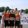 Mr D and Car wash Girls