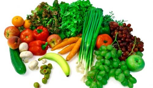Food - Vegetable and Fruit Array