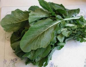 Food - turnip greens