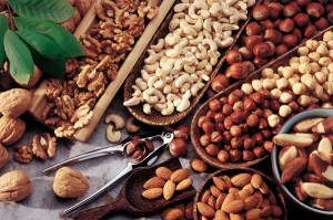 food - assortment of nuts