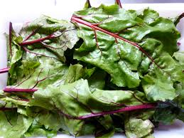 food - beet greens